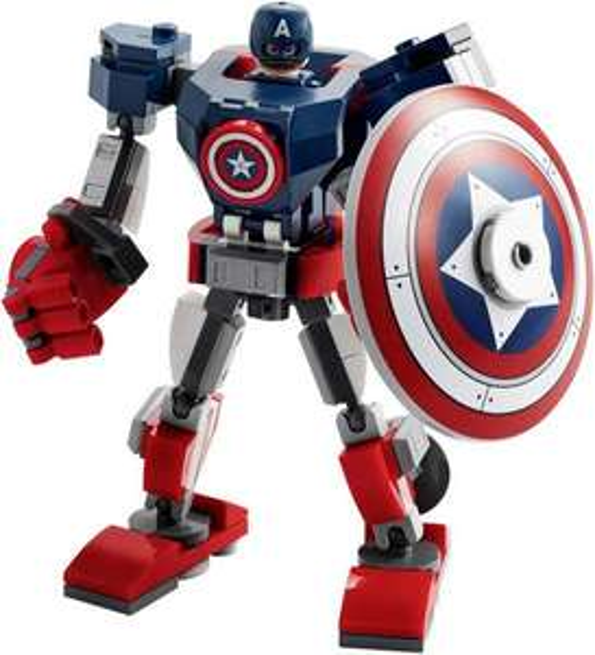 LEGO Marvel Super Heroes Captain America Thor usw Mech [Thalia Kultclub]