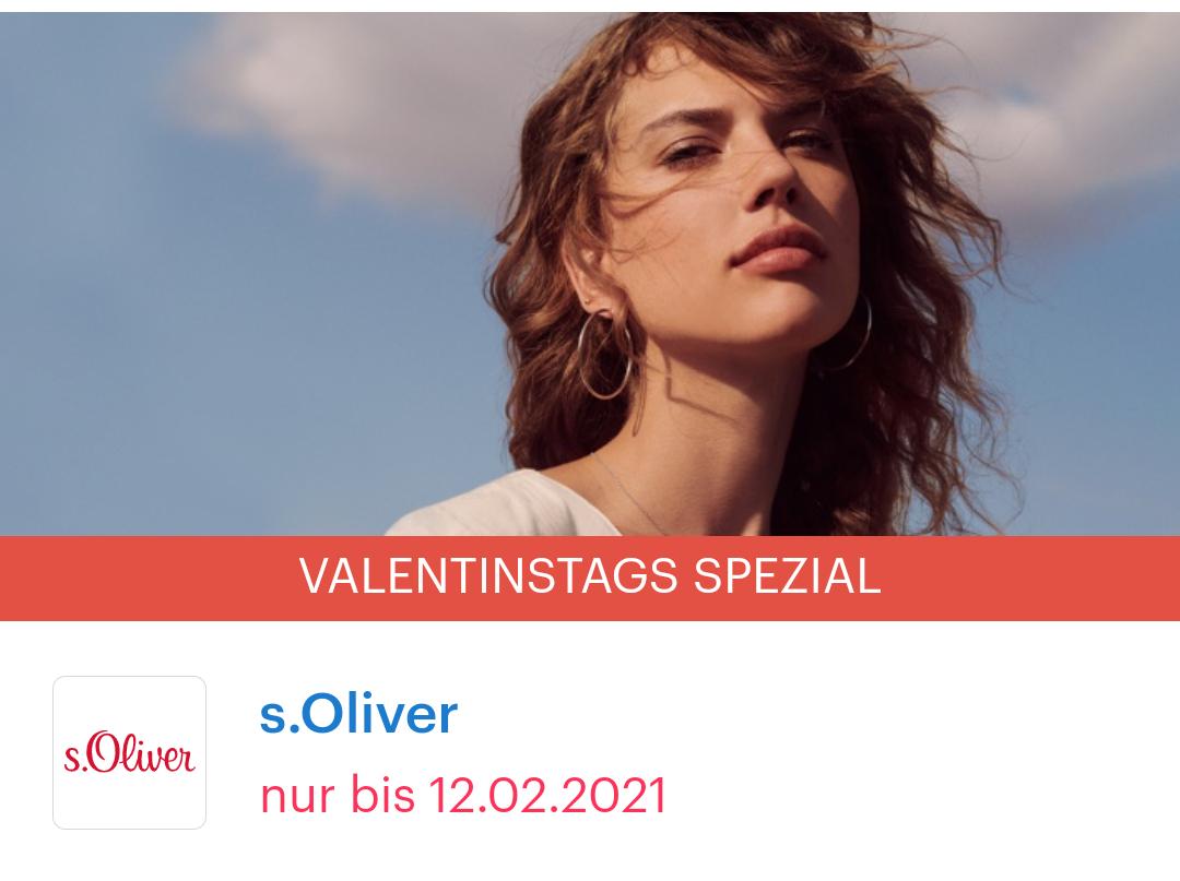 [Shoop   S.oliver] 10% Cashback + 10€ Shoop-Gutschein*(ab 99€) + 15€ Rabattgutschein (ab 69€)