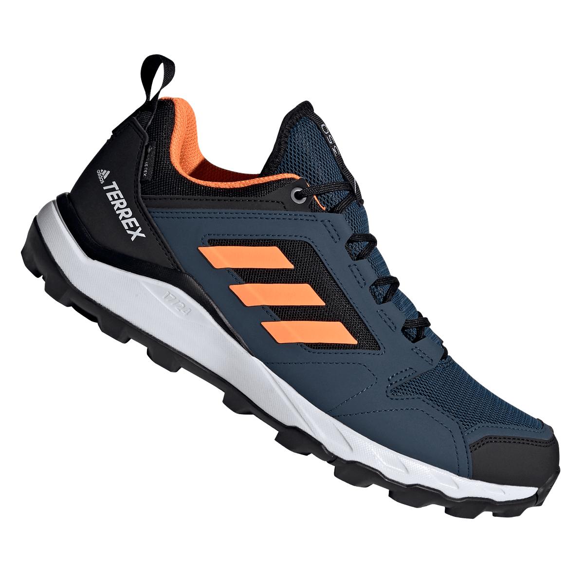 adidas Wanderschuh Terrex Agravic TR GTX dunkelblau/orange (Größen 40 2/3 bis 47 1/3)