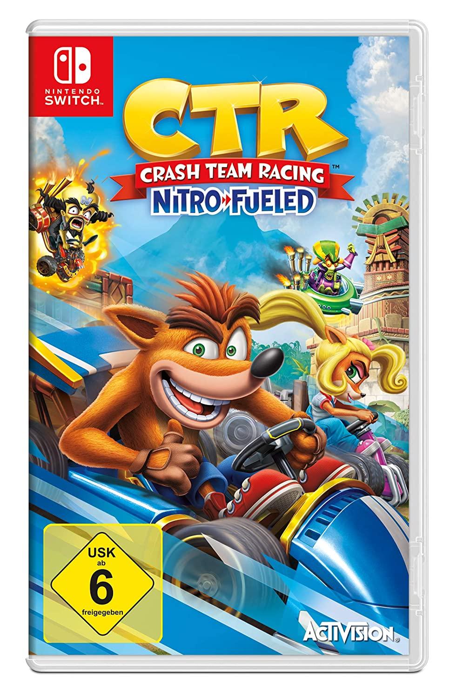 Crash Team Racing: Nitro-Fueled (Switch, USK, Metascore 80)