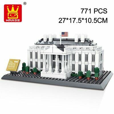 [Klemmbausteine][Ebay] Wange 4214 Weißes Haus 771 Teile, Versand aus Deutschland