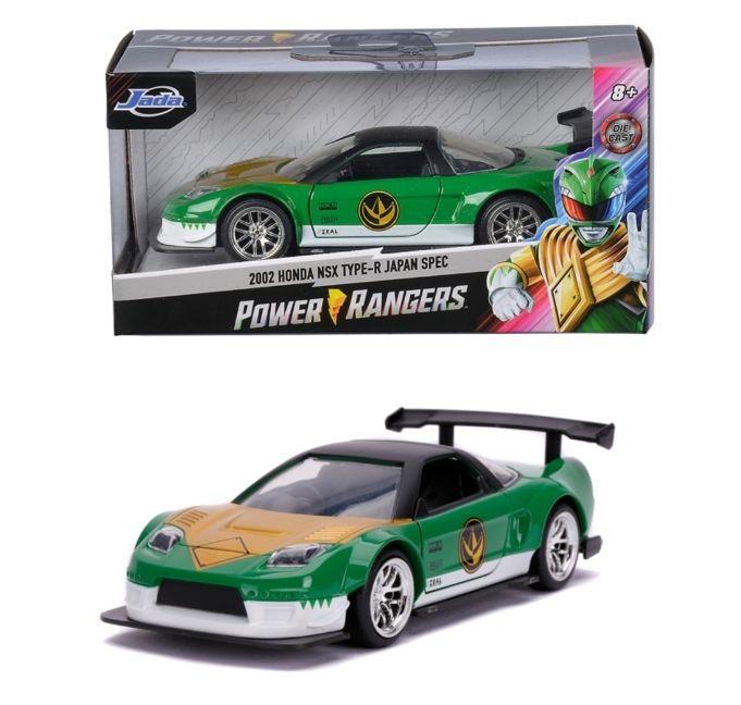 Jada - Power Rangers 2002 Honda NSX Type-R Japan Spec N 1:32 Abholung Müller