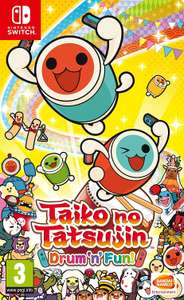 [Netgames] Taiko No Tatsujin Drum n Fun! Nintendo Switch (Cartridge) OHNE Trommel