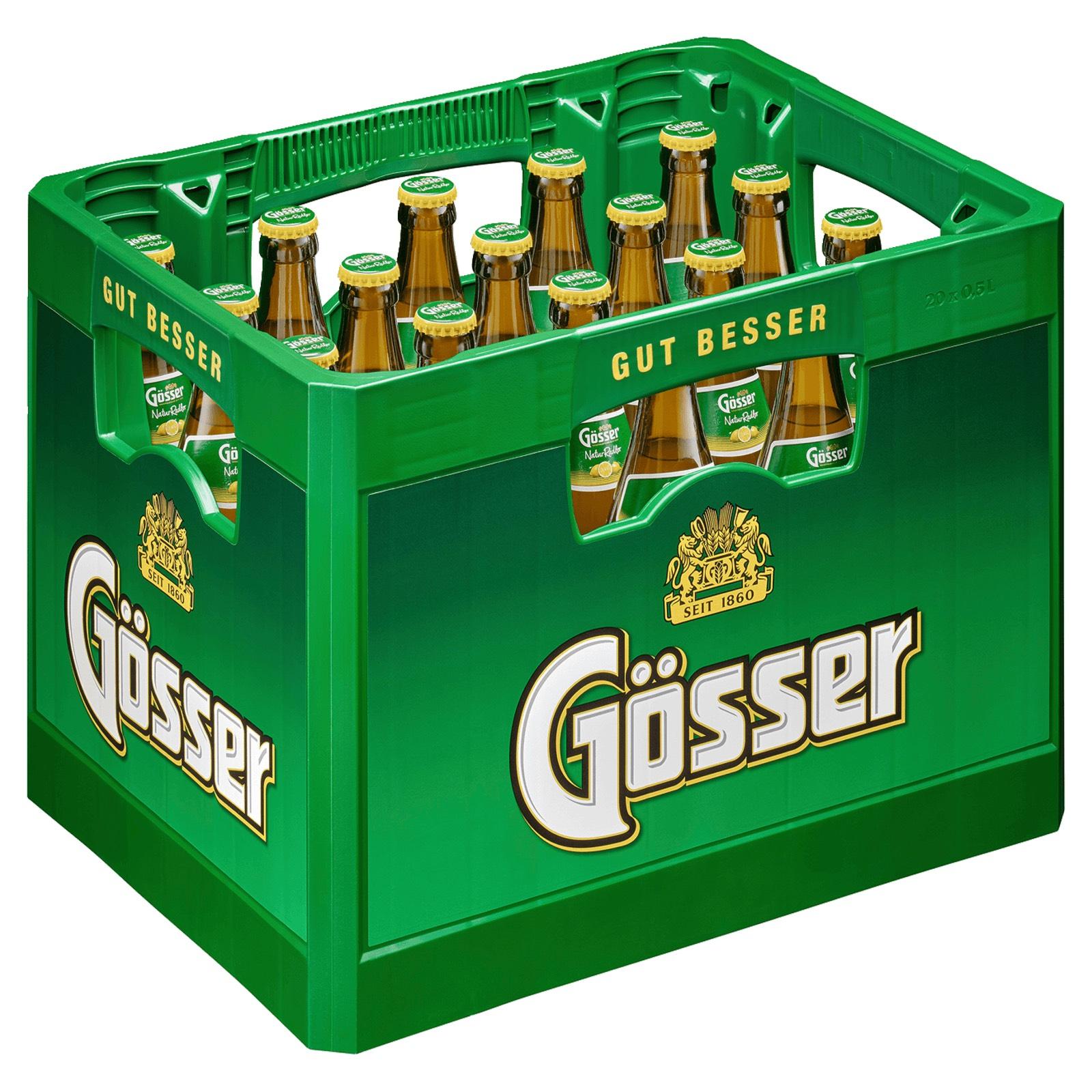 [Marktkauf Nord] Kiste Gösser Naturradler 20x0.5l für 12.99€   Kiste Heineken 20x0.4l für 12.99€