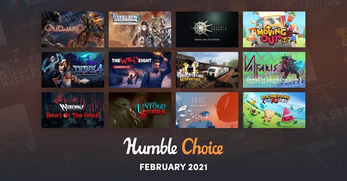 Humble Choice (Steam): Februar Spiele