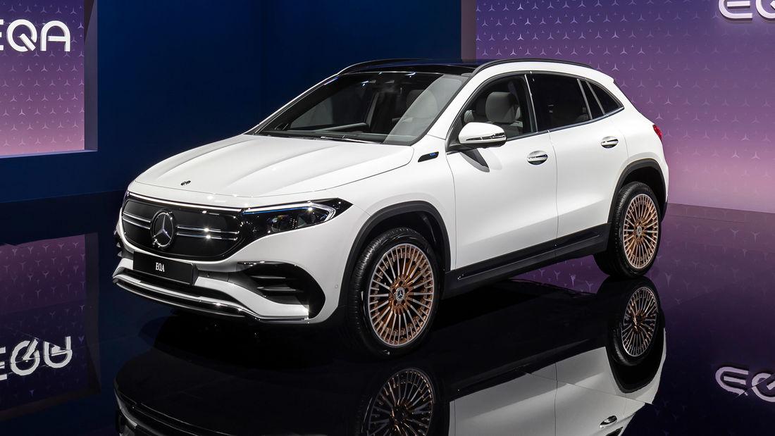(Gewerbeleasing) Mercedes-Benz EQA 250 Elektroauto, 48 Monate, LF 0,67, Reichweite: 426km