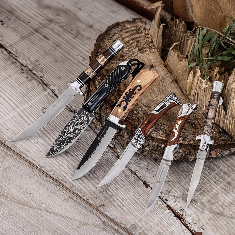 Norma feststehendes Bushcraft-/Outdoor-Messer Waffengesetzkonform