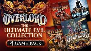 Overlord: Ultimate Evil Collection (2 Spiele + 2 DLCs) für 1,31€ @ Fanatical