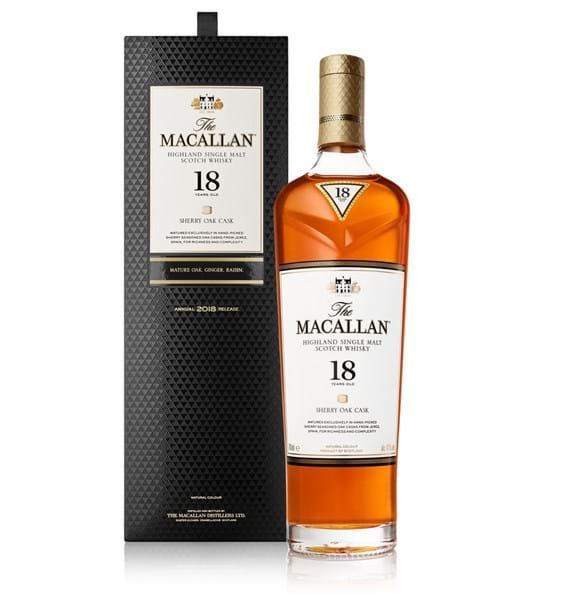 The Macallan 18 Jahre Sherry Oak direkt von Macallan mit ca. 9% Ersparnis ggü. Idealo