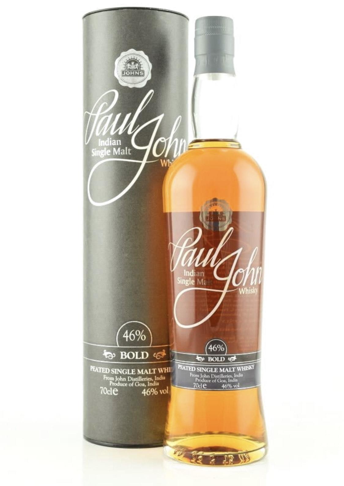 Paul John Bold 46%vol. 0,7l Single Malt Whisky