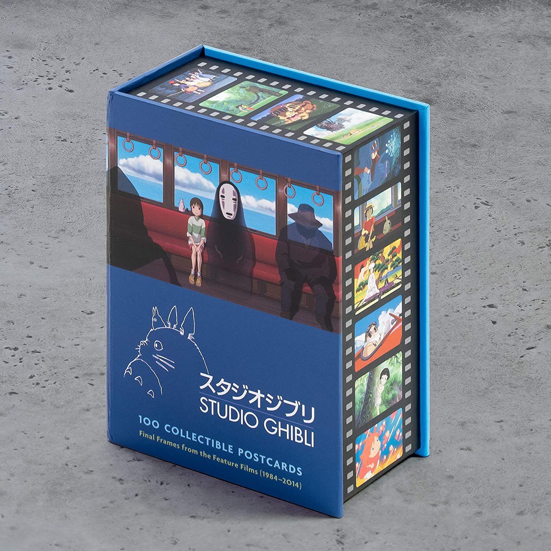 Studio Ghibli Box mit 100 Postkarten mit Motiven aus den Filmen