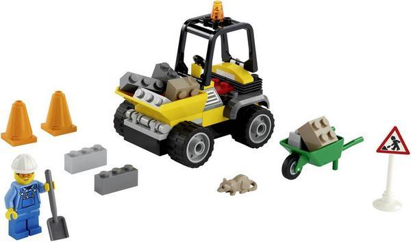 Thalia Kultclub: LEGO City 60284 Baustellen-LKW