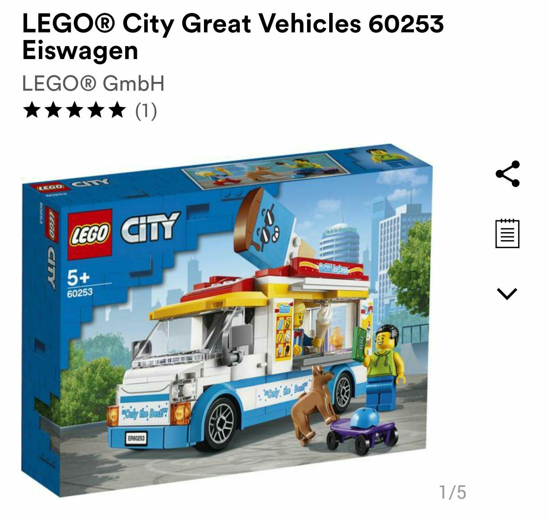 [LEGO] City Eiswagen 60253
