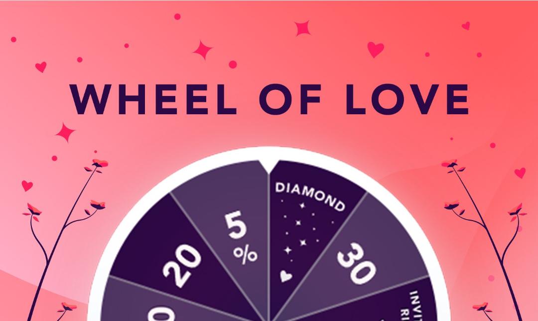 [BestSecret] Wheel of love Glücksrad