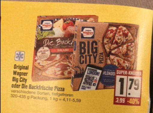 Wagner Pizza mit Coupon für nur 1,29 € bei Edeka kaufen