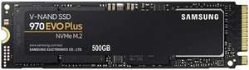 Samsung 970 Evo Plus Interne SSD M.2 NVMe (TLC) - 500GB, R3500/W3200, DRAM cache, 5 Jahre Garantie (Amazon.fr)