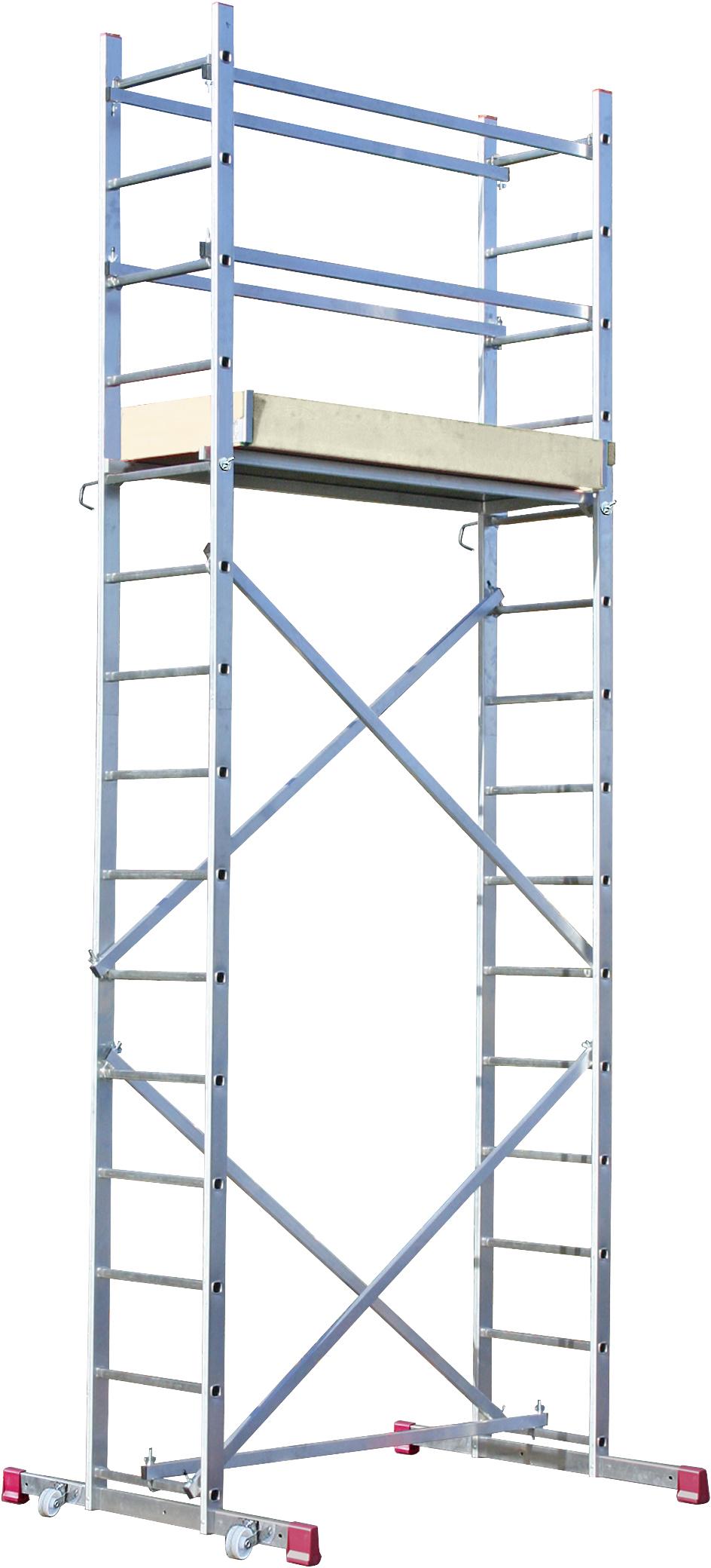 KRAUSE Corda Alu-Montagegerüst mit 5 m Arbeitshöhe für 279 Euro [Globus Baumarkt] mit der 12% Bauhaus TPG für 245,52 Euro [Bauhaus]