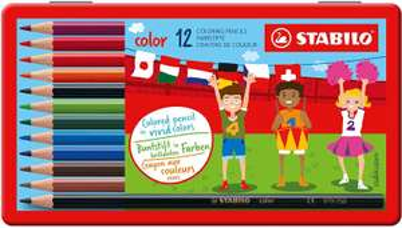 [Amazon Prime] Buntstift - STABILO color - 12er Metalletui - mit 12 verschiedenen Farben