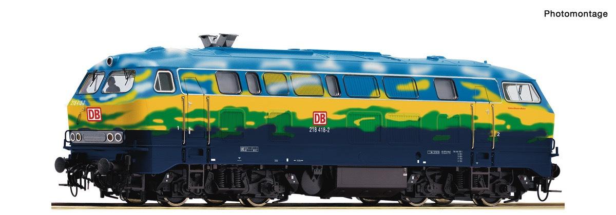 Modelleisenbahn Roco 70758 H0 DB 218 418-2 digital und Sound