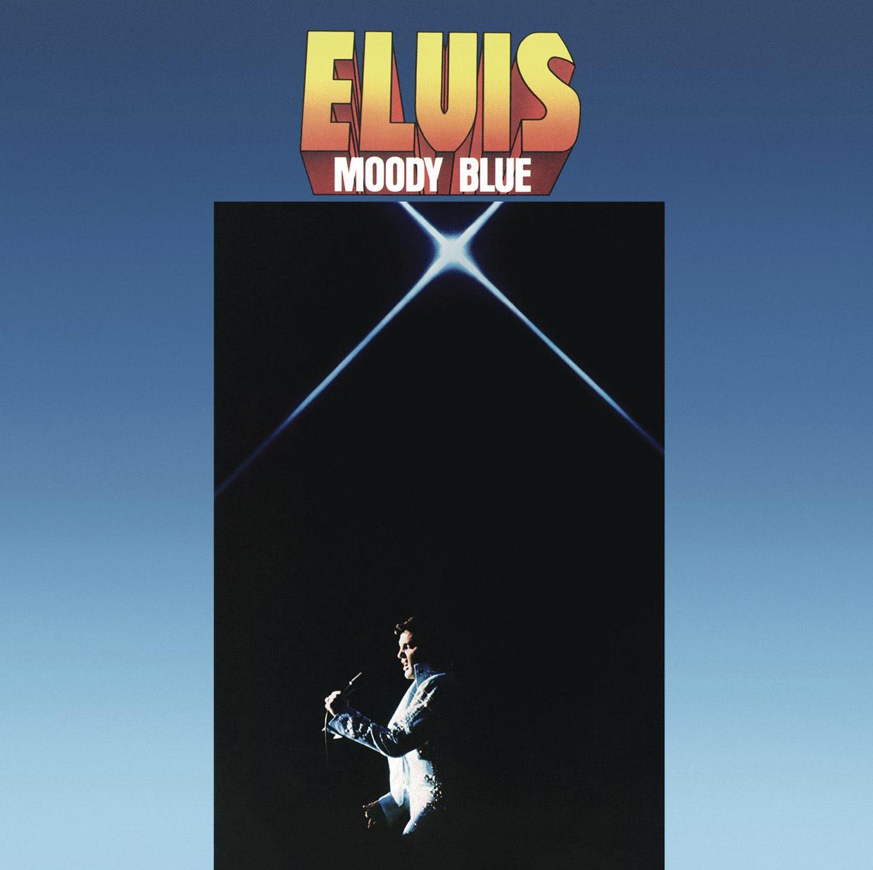 [Prime] Elvis Presley - Moody Blue - 40th Anniversary Clear Blue Vinyl (LP)