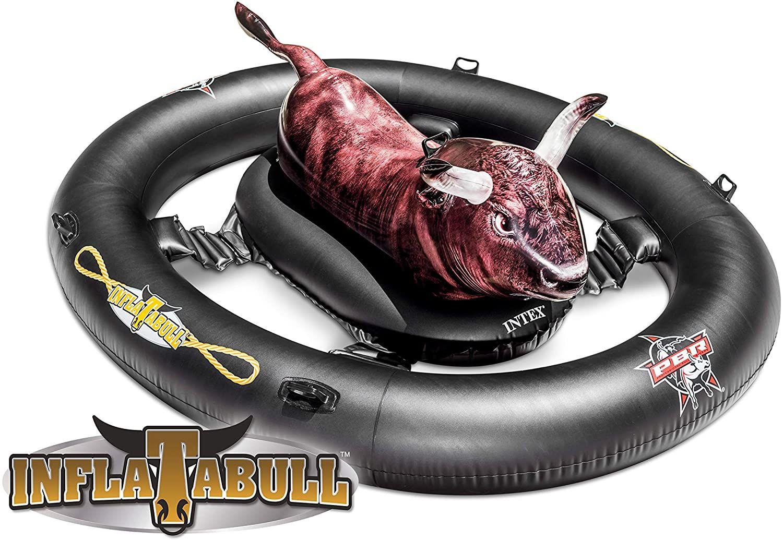 Intex Aufblasbares 56280inflatabull mit Druck Realistische, 239x 196x 81cm [Amazon]