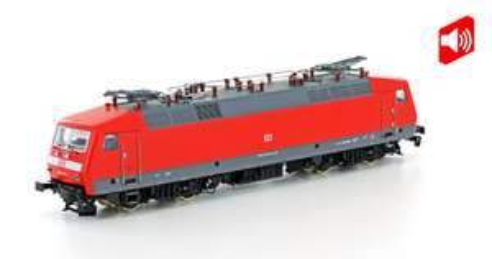 Modelleisenbahn: LS Models H0 16085S E-Lok BR 120.1 der DB, Epoche VI, Gleichstrom (DC) digital mit Sound