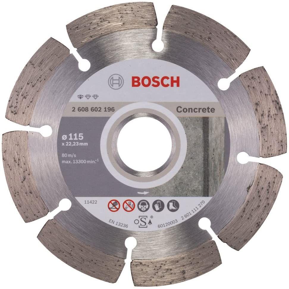 Bosch Professional Diamanttrennscheibe für Beton 115mm [Prime]