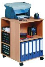 DURABLE Bürowagen ´74 59´ offen, 6 Böden, grau 311310