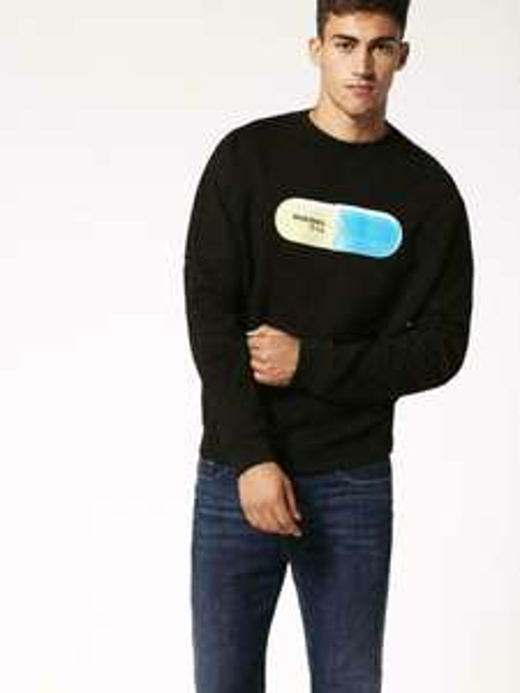 Diesel Sweatshirt schwarz für 32,90 Euro (Nur S und M)