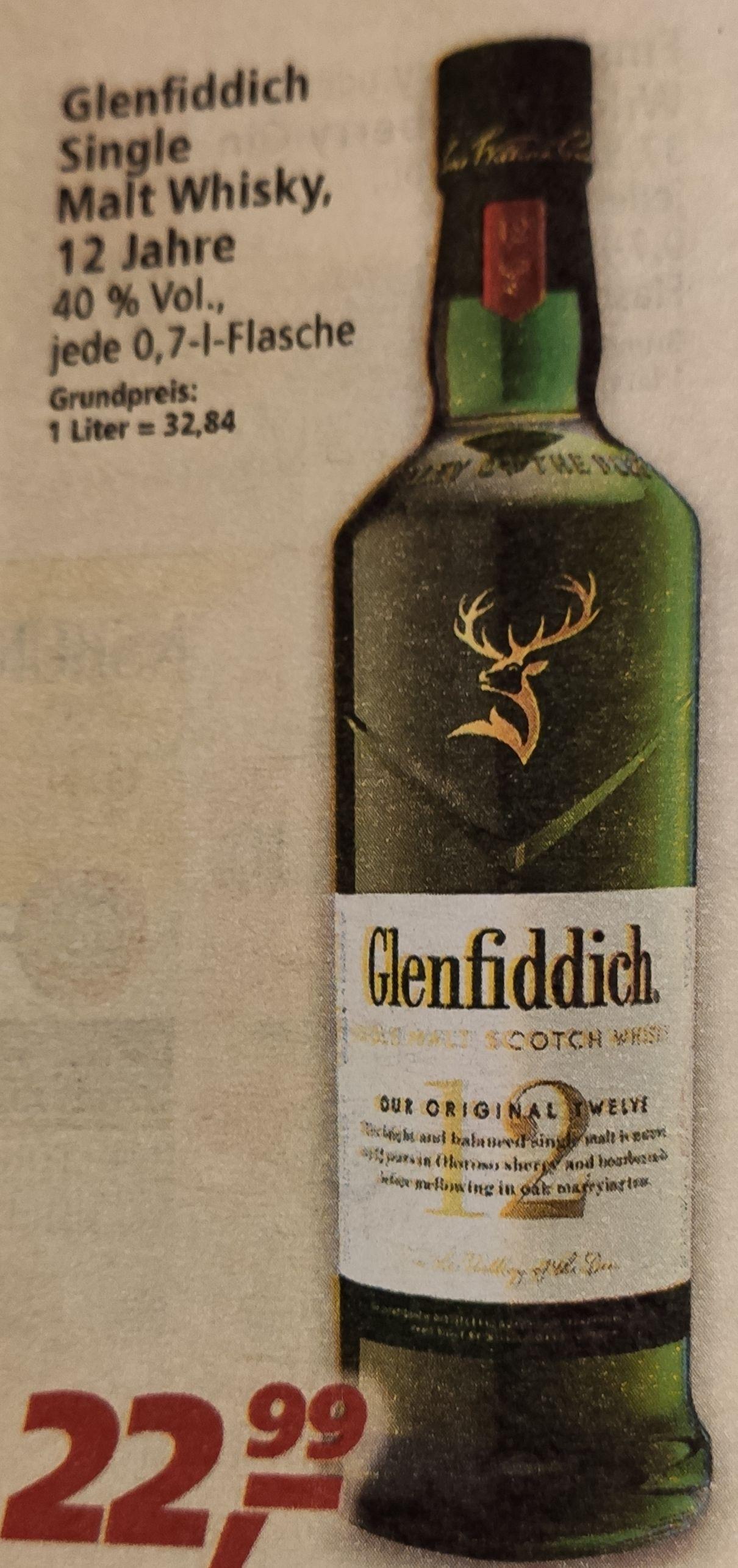 Glenfiddich 12 Jahre (gegebenenfalls Bundesweit) bei Real ab 08.02.21