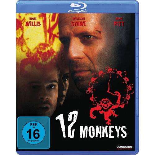 [amazon.de] Blu-Ray 12 Monkeys (mit Bruce Willis+Brad Pitt, imdb 8,1) für 7,99 EUR