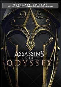 [PC] Assassin's Creed Odyssey Ultimate Edition : Game + Season Pass + Pack Deluxe + AC 3 Remastered & AC Liberation für 9,25€ [VPN]