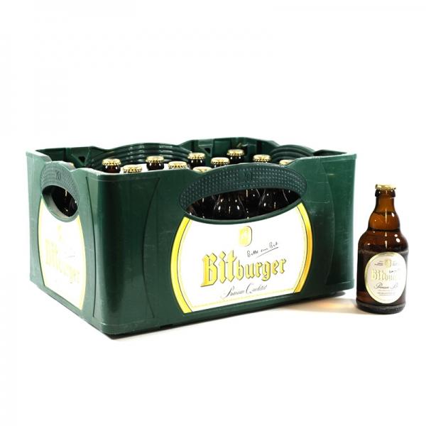 """GLOBUS : gratis Six Pack Bitburger beim Kauf von 2 Kisten """"Stubbi"""" ..entspricht einem Literpreis von rund 1.05 €"""