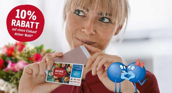 Einmalig 10% Rabatt bei Rewe für Payback Neuanmeldung