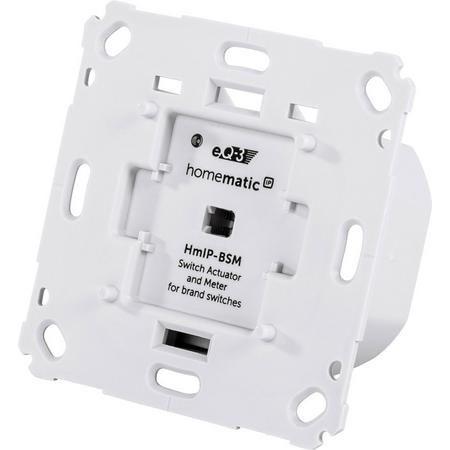 Homematic IP Schalt-Mess-Aktor für Markenschalter HmIP-BSM / 36,97€ ab 5 Stück