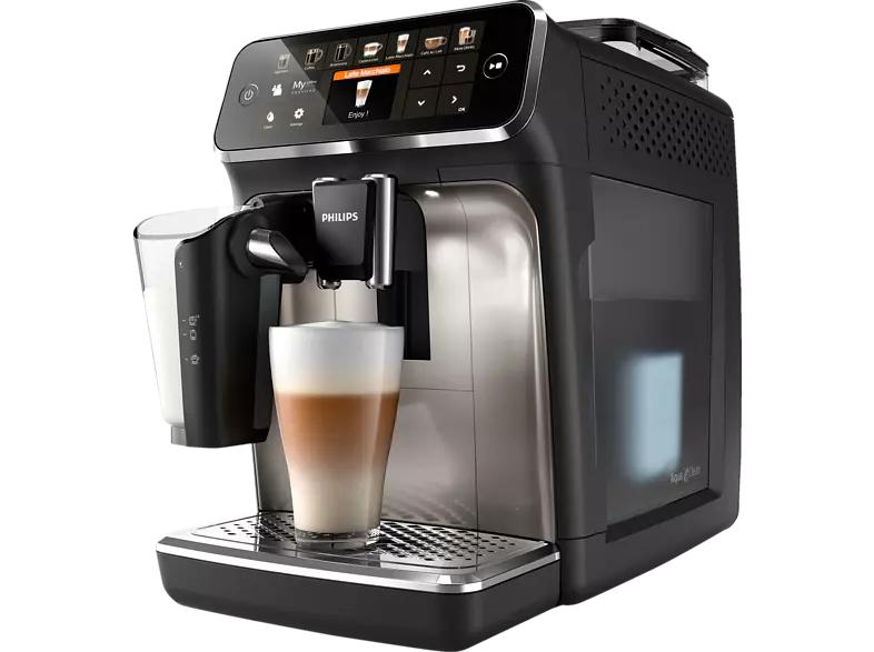 [Saturn Superbowl 19% Mwst Aktion] PHILIPS EP5447/90 Kaffeevollautomat Schwarz/Chrom