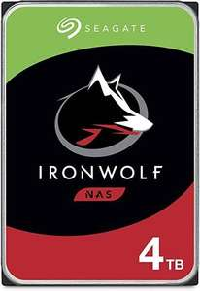 "Seagate Ironwolf 4TB 3,5"" NAS HDD (CMR, 64MB, 5900rpm, 3 Jahre Garantie) [Saturn] 2stck = 168€ 84€/HDD"
