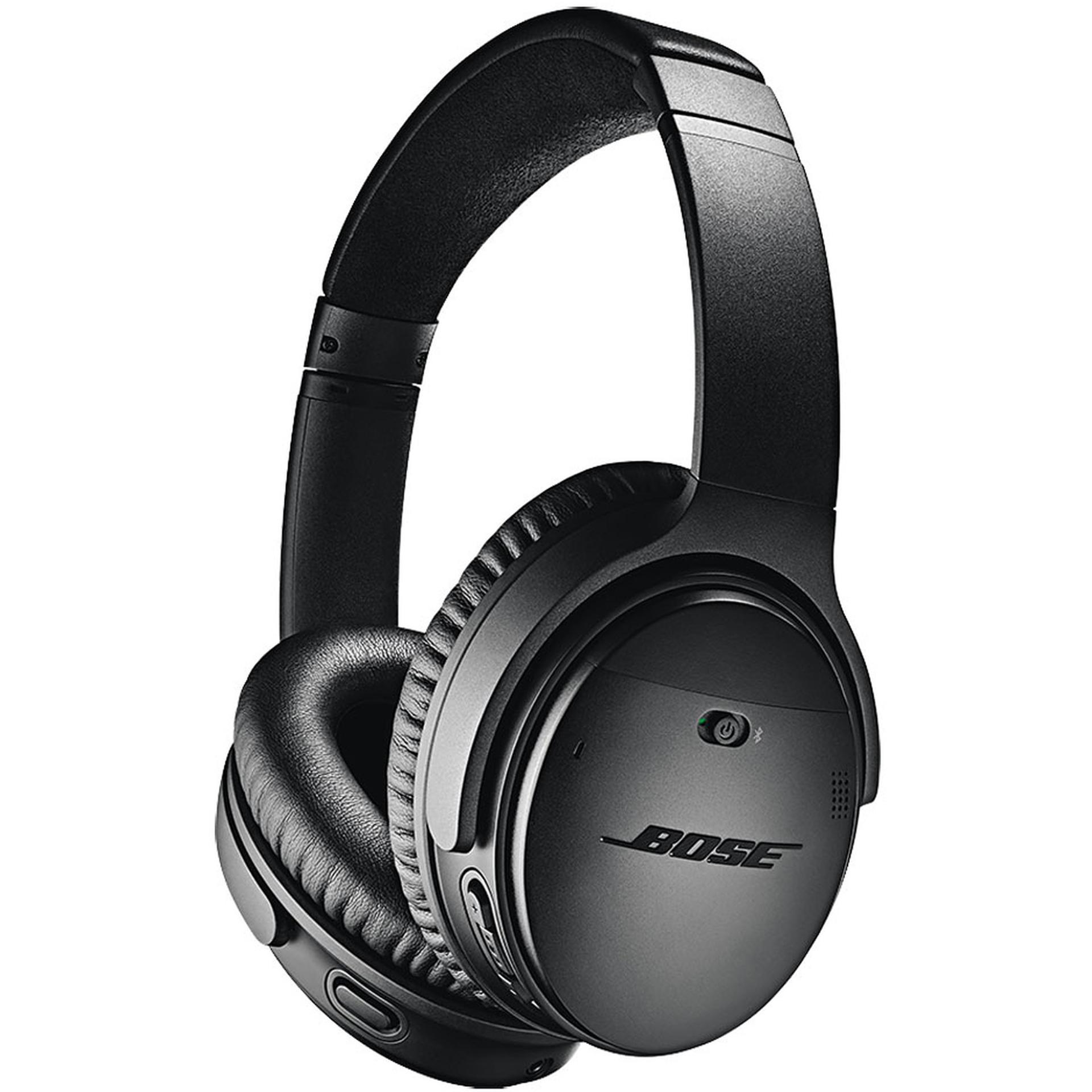 Bose QuietComfort 35 II: Bluetooth Kopfhörer + 18,20€ Superpoints (Active Noise Cancelling, 20h Akku, zwei Mikrofone, Google Assistant)