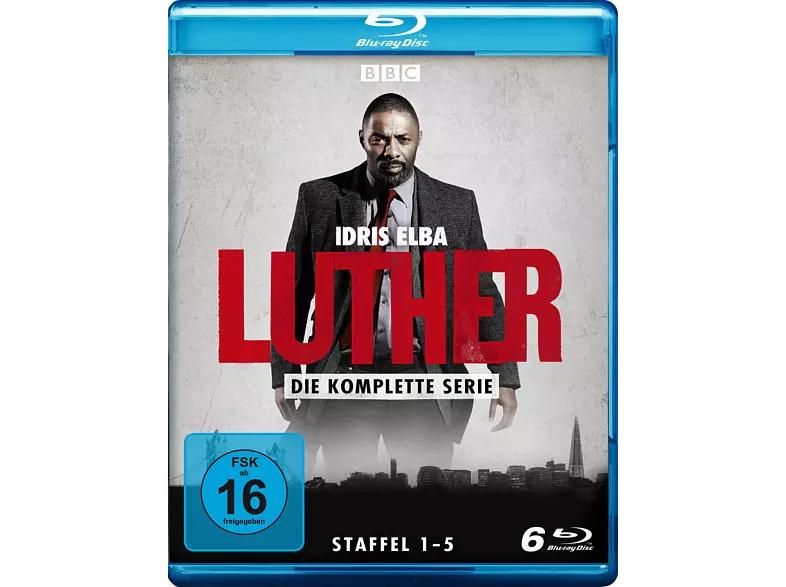 Luther - komplette Serie [Blu-ray] Staffel 1-5 für 18,48€ bei Saturn