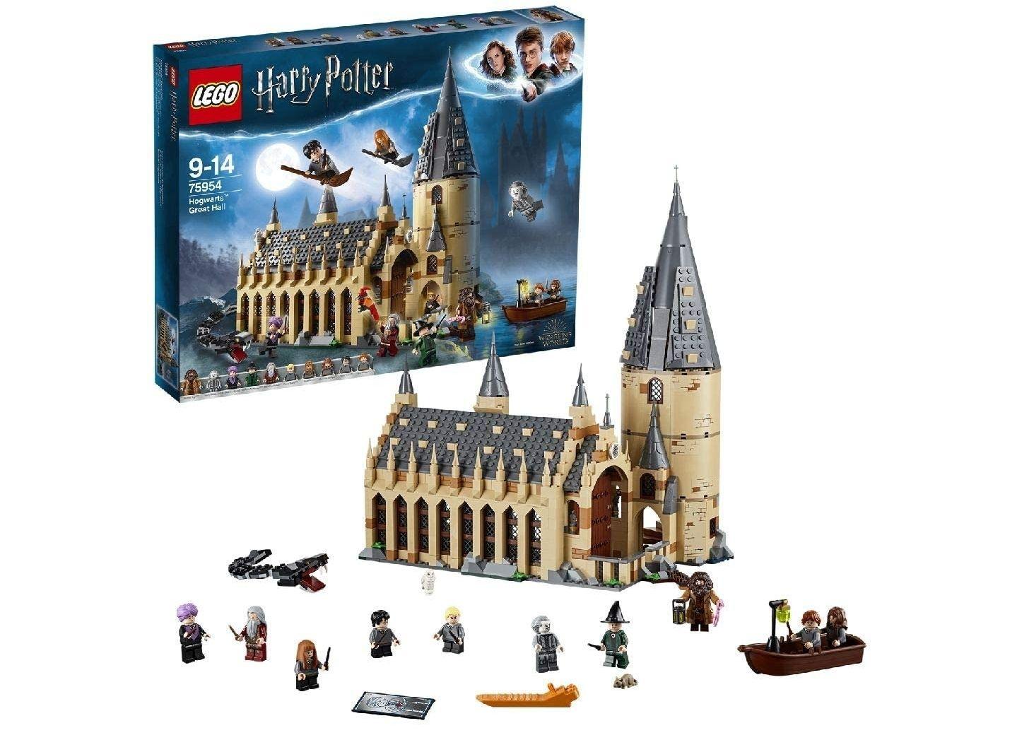 LEGO 75954 Harry Potter Die große Halle von Hogwarts (Saturn 19% MwSt. Geschenkt)