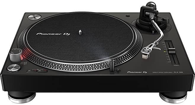 PIONEER DJ PLX-500-K Plattenspieler, Schwarz