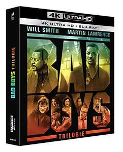 Bad Boys Trilogie 4K Ultra HD Blu-ray + Blu-ray Teil 1 und 2 Deutsch, Teil 3 Englisch