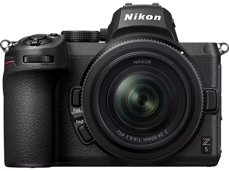 NIKON Z5 Kit Systemkamera 24.3 Megapixel mit Objektiv 24-50 mm