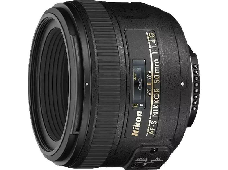 NIKON AF-S NIKKOR 50mm 1:1,4G - 50 mm f/1.4 AF-S (Objektiv für Nikon F-Mount)