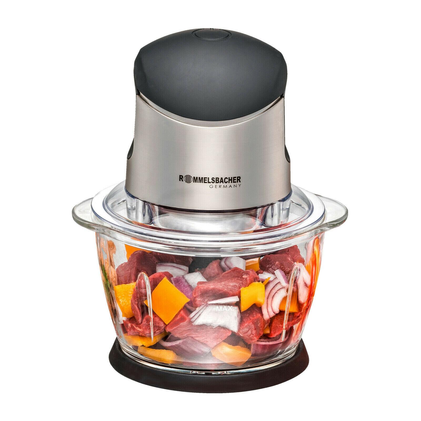 [PRIME/SATURN] Rommelsbacher MZ400 Mini Mixer 33,44/39,44€, Mini food processor, Chopper