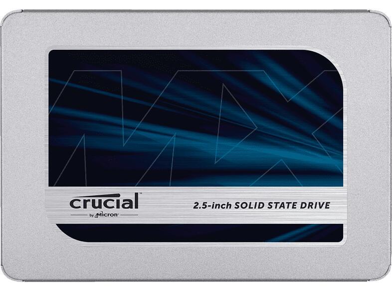 2 Stück Crucial MX500 SSD 500GB für zusammen 89,06€ inkl. Versandkosten / Stückpreis = 44,53€