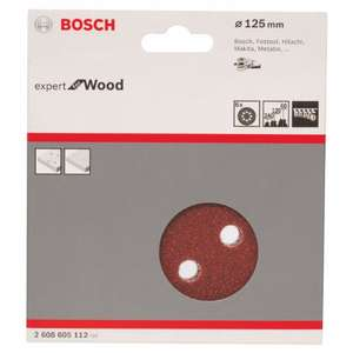 (Prime) 6 Stück: Bosch Professional Schleifblatt für Exzenterschleifer Holz und Farbe (Ø 125 mm, Körnung 60/120/240, C430)