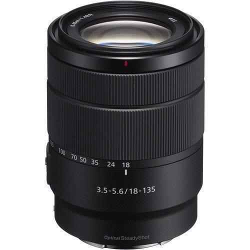 (Amazon / Saturn) Sony SEL-18135 Zoom Objektiv 18-135mm F3.5-5.6 OSS (E-Mount APS-C geeignet für A5000/A5100/A6000 Serien und Nex) schwarz