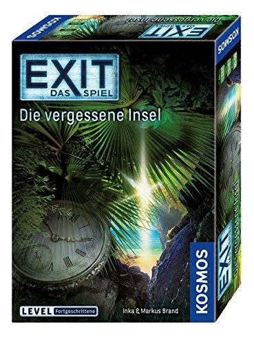 (Prime) Kosmos 692858 - EXIT - Das Spiel - Die vergessene Insel, Level: Fortgeschrittene, Escape Room Spiel, Bunt