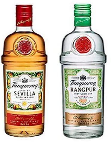 Tanqueray Rangpur & London Dry Gin / Flor de Sevilla je 15,99€ bei real